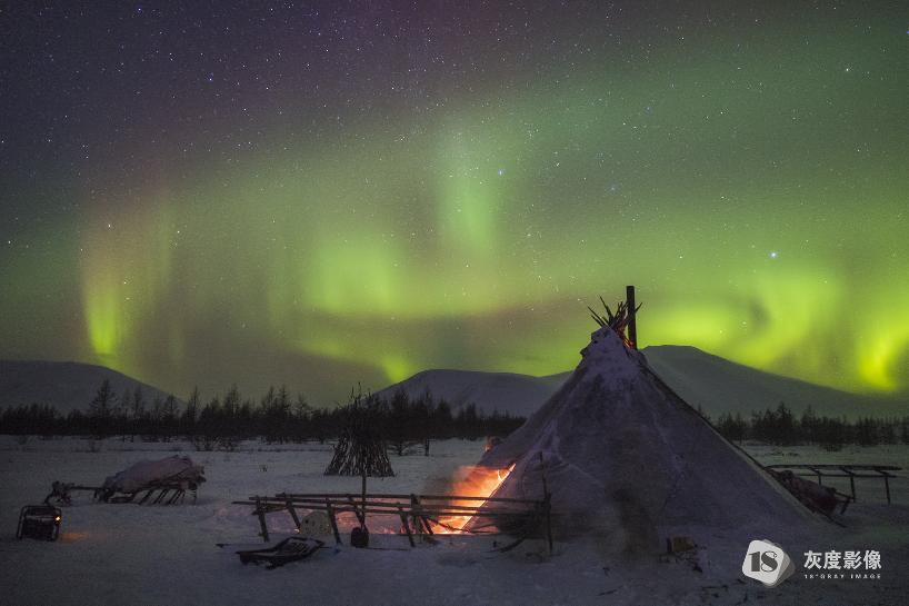 涅涅茨人营地21 The Nenets campsite21 柴嘉俊/JIAJUN CHAI